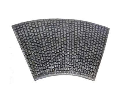 Cobblestone road – bent section, 15mm 1:100 scale