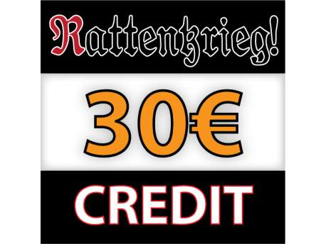 Rattenkrieg! 25€ Credit