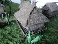 Vietnam House with Woven Bamboo Walls and Gabble/Hipped Roof 1:56 (28mm)