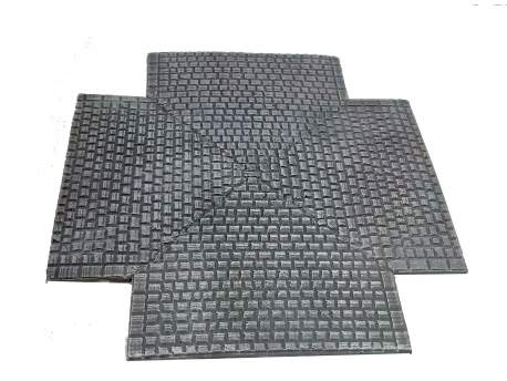 Cobblestone road – crossroad section, 28mm 1:56 scale