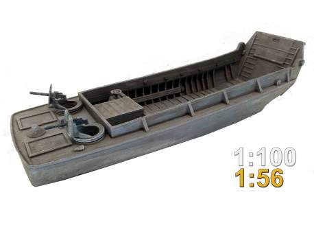 LCVP Higgins US landing craft 1:56 (28mm)