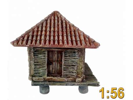 Medieval small barn 1:56 (28mm)