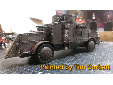 Büssing A5P Heavy Armoured Car 1:56 (28mm)